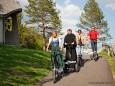 Elektrowallfahrt mit Segway, Bikeboard, Easyglider, E-Bikes und Elektrofahrräder zur Mariazeller Basilika