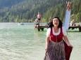 Liane entsteigt dem Erlaufsee - Kleine Zeitung Platzwahl Fest am Erlaufsee
