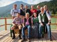 Bankerlfoto Bürgermeister Mariazellerland, Thomas Götz und Erlaufsee Verantwortliche - Kleine Zeitung Platzwahl Fest am Erlaufsee