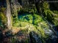 Hier kommt das Wasser aus der Höhle - Erlaufursprung Wanderung am 19. April 2015