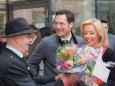 Ofö. Hans Mayer und Georg und Katharina Rippel-Pirker - Offizielle Eröffnung der erLEBZELTEREI Pirker in Mariazell (7.4.2014)