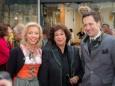 Katharina Rippel-Pirker, Bezirkshauptfrau Dr. Gabriele BUDIMAN, Georg Rippel-Pirker - Offizielle Eröffnung der erLEBZELTEREI Pirker in Mariazell (7.4.2014)