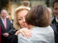 Katharina Rippel-Pirker und Johanna Mikl-Leitner - Offizielle Eröffnung der erLEBZELTEREI Pirker in Mariazell (7.4.2014)