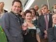 Georg Rippel Pirker und Sopranistin Patricia Nessy - Offizielle Eröffnung der erLEBZELTEREI Pirker in Mariazell (7.4.2014)