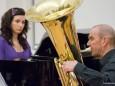 Erwachsenenkonzert 2012 der Musikschule Mariazellerland - Ana Thalhammer Cosme, Ludwig Scheitz