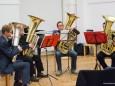 Erwachsenenkonzert 2012 der Musikschule Mariazellerland - Hannes Haider, Ludwig Scheitz, Alexander Brandl, Patrik Papst