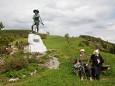 Erzherzog Johann auf seinem Hügel