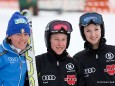 FIS Europacup der Damen in St. Sebastian - Giulia Gianesini, Veronique Hronek und Simona Hoesl