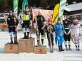 FIS Europacup der Damen in St. Sebastian - vlnr. Wendy Holdener, Katharina Duerr, Fanny Chemlar...