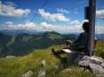 Traumhaftes Panorama beim Fallenstein (1536m) Gipfel