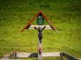 Gedenkkreuz auf der Höhenreithalm - Fallenstein (1536m) Wanderung