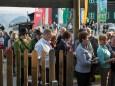 Beim Eingang - Festival der Chöre - Bergwelle
