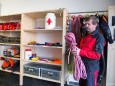 Sepp Fluch erklärt die Seilunterschiede für Berg und Canyoning - Tag der offenen Tür im Rüsthaus Mariazell