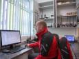 Tom Troger in der Einsatzzentrale - Tag der offenen Tür im Rüsthaus Mariazell