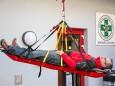 Seilbergungsvorführung Bergrettung - Tag der offenen Tür im Rüsthaus Mariazell