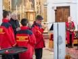 Fürbitten vorgetragen vom Feuerwehr Nachwuchs - FF Gußwerk Fahrzeugsegnung am 2. Mai 2015