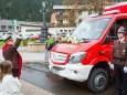 Segnung durch Landesfeuerwehrkurat Dr. Pater Michael Staberl - FF Gußwerk Fahrzeugsegnung am 2. Mai 2015