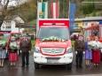 Die Paten mit dem neuen Fahrzeug - FF Gußwerk Fahrzeugsegnung am 2. Mai 2015