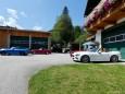Fiat 124 Spidertreffen mit Stopp beim Franzbauer/Salzatal ©Franz-Peter Stadler