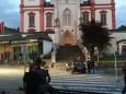 Filmdreharbeiten in Mariazell