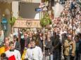 Fronleichnamsprozession am 4. Juni 2015 in Mariazell