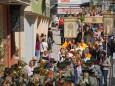 Fronleichnamsprozession in Mariazell am 19. Juni 2014