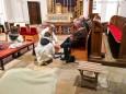 Gründonnerstag - Fußwaschung in der Pfarrkirche Gußwerk. Foto: Franz-Peter Stadler