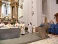 Fußwaschung am Gründonnerstag in der Basilika Mariazell. Foto: Josef Kuss