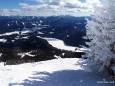 Blick nach Mariazell von der Gemeindealpe am 21.2.2010