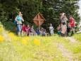 Riffelsattel - Wanderbare Gipfelklänge am 7. Juni 2015 - Lackenhof-Riffelsattel-Kleiner Ötscher-Eibenkogel-Fuchswaldhütte Weitental