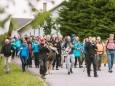 Gipfelklänge 2017: Die Musiker begleiten die Gruppe bei der Wanderung  © Mostviertel Tourismus/Fred Lindmoser