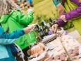 Gipfelklänge 2017: Feine Mehlspeisen bei der Rast  © Mostviertel Tourismus/Fred Lindmoser