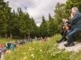 Gipfelklänge 2017: Am Sonntag ging's den Tirolerkogel hinauf   © Mostviertel Tourismus/Fred Lindmoser
