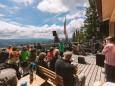Gipfelklänge 2017: Am Annaberger Haus angekommen erwartete die Besucher nicht nur eine Stärkung... © Mostviertel Tourismus/Fred Lindmoser