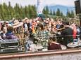 Gipfelklänge 2017: Global Groove Lab spielten auf beim Annaberger Haus © Mostviertel Tourismus/Fred Lindmoser