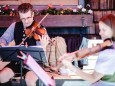 Vier Ausser Geigen. Toni Burger. Traisnerhütte. Muckenkogel Lilienfeld. ©Mostviertel Tourismus/Fred Lindmoser