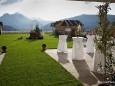Terrasse Europeum vorm Eintreffen der Gäste