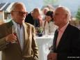 Prof. Michael Reinhartz (kulinarisches Erbe Öst.) mit  Dr. Helmut Zolles (Tourismusexperte)