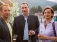 Mitte: Christian Hubinger (GF Weber ) und Simone Ams (Marketing Weber)