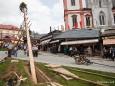 Maibaum aufstellen in Mariazell