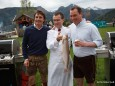 Alexander Quester (Feine Fische Mariazell), Toni Mörwald und Christian Hubinger (GF Weber)