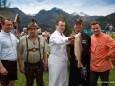 Christian Hubinger (GF Weber), Hans Haas (Kässpatzen), Toni Mörwald, Georg Mayr (Grillstaatsmeister) und Didi Dorner