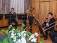 Mariazeller Brass - Goldene Ehrennadel der Stadt Mariazell für Ing. Hugo Sampl und Dr. Winfried Wagner