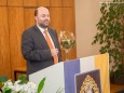 Ing. Hugo Sampl jun. - Goldene Ehrennadel der Stadt Mariazell für Ing. Hugo Sampl und Dr. Winfried Wagner