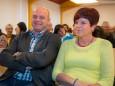 Bgm. Michael Wallmann mit Gattin - Heilbutt & Rosen Kabarett der Steiermärkischen Sparkasse Mariazellerland