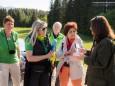 Kurze Besprechung vorm Start. Heilige und Heilende Wege nach Mariazell - Kräutergärten am Sebastianiweg