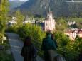 Mariazell ist erreicht. Heilige und Heilende Wege nach Mariazell - Kräutergärten am Sebastianiweg