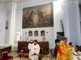 Heilige Drei Könige in der Pfarrkirche Gußwerk. Handyfoto: Franz-Peter Stadler