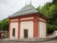 Heiligen Brunn Kapelle in Mariazell - Fest nach Restaurationsarbeiten
