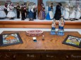 Feierlichkeit zur Überreichung von Exponaten der Fam. Gottschaller an das Mariazeller Heimathaus